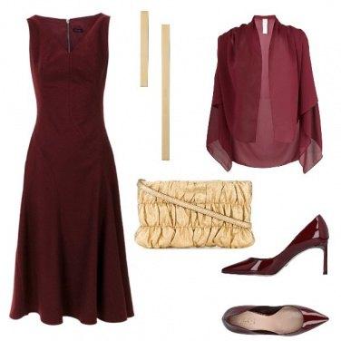 Outfit La pochette oro