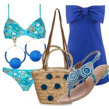 Outfit Mare azzurro