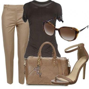 Outfit Cioccolato e caffè