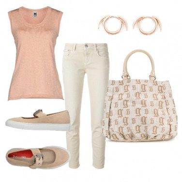Outfit CMPS Oggi ci va il rosa