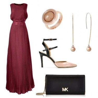 Outfit Gli orecchini rosa