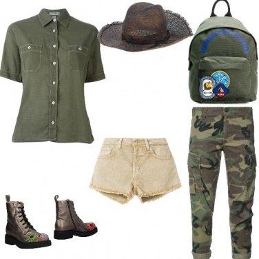 Outfit Safari in vacanza