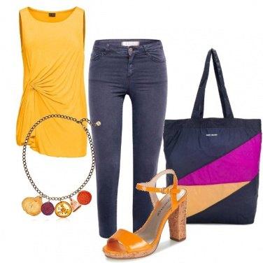 Outfit Blocchi di colore