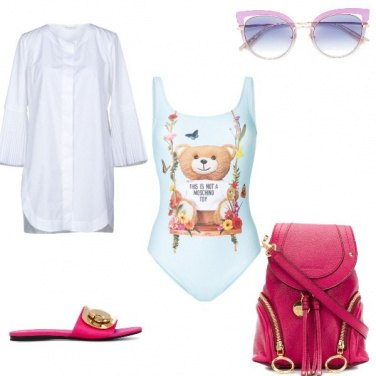 Outfit Spiaggia look