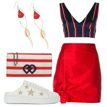 Outfit Welcome America