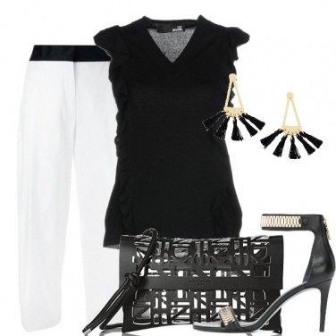 Outfit Serata metropolitana