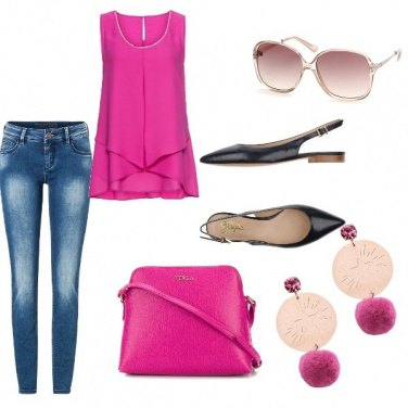 Outfit Bon Ton, tinte rosa chic, chic