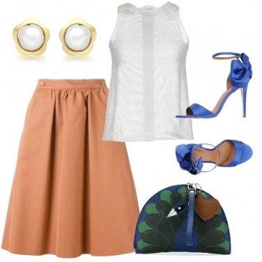 Outfit La borsa pavone