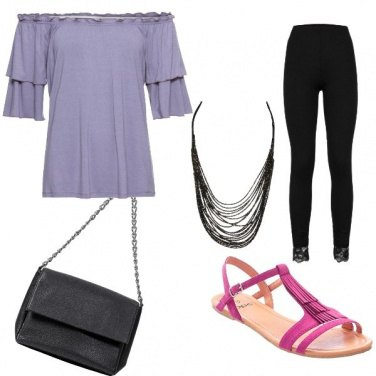 Outfit Violet night