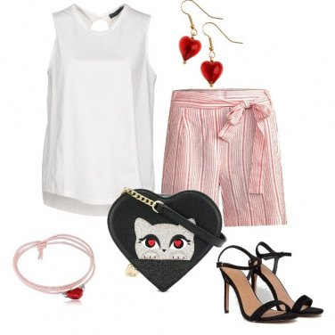 Outfit Pink love - stasera esco-