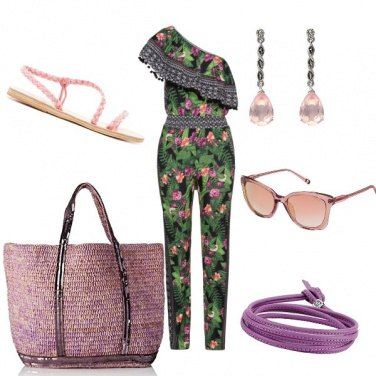 Outfit Tuta trendy
