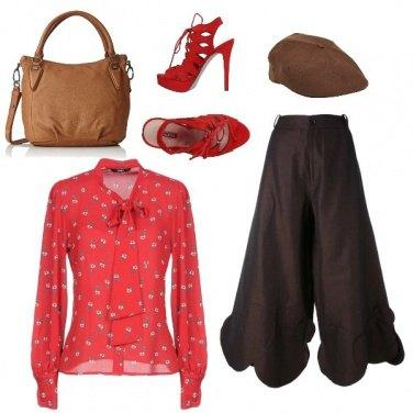 Outfit Cioccolato in love