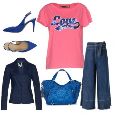 Outfit Blu night