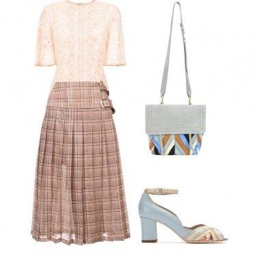 Outfit Rosa e turchese