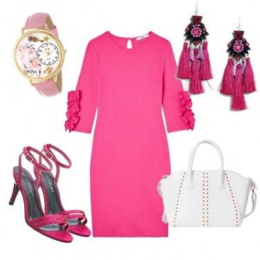 Outfit Fashion fucsia