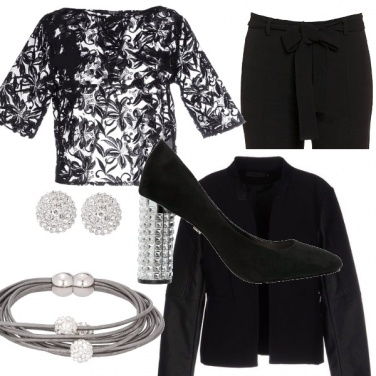 Outfit Nero d\'autunno