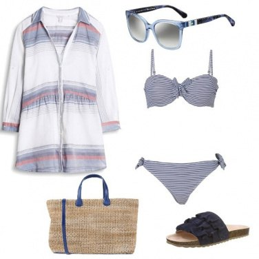 Outfit Spiaggia look essenziale