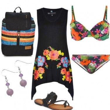 Outfit Scendere al mare