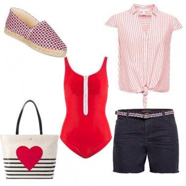 Outfit Apericena rossoblu