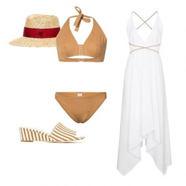 Outfit Mare e sabbia
