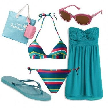 Outfit Pranzo in spiaggia