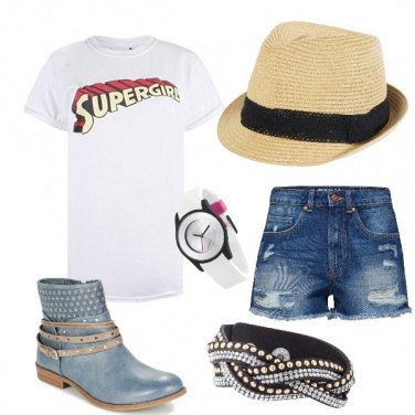 Outfit Super girl... super trendy