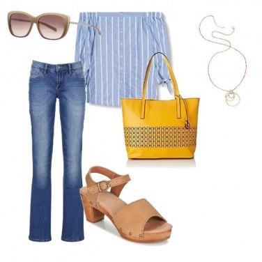 Outfit In ufficio d\'estate