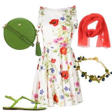 Outfit Invitata matrimonio in campagna