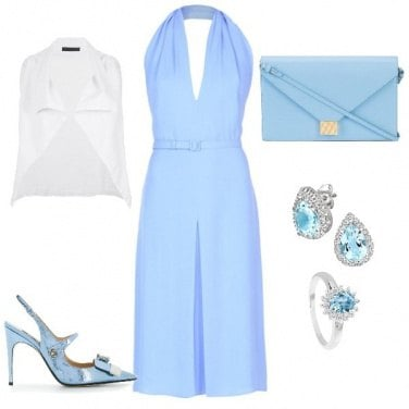 Outfit Testimone nozze sposa