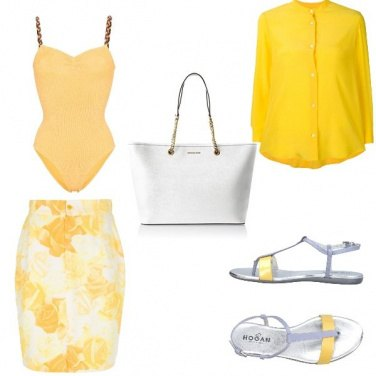 Outfit Shopping+spiaggia