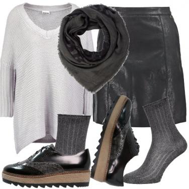 Outfit Il maglione ampio
