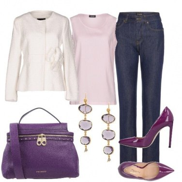 Outfit Purple Lady