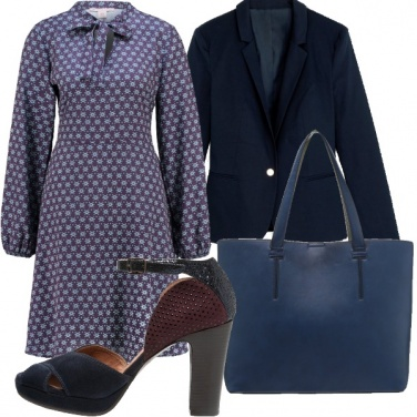 Outfit Fantasie in blu