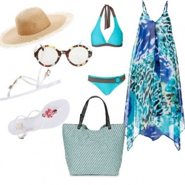 Outfit Basic Chic, vacanze sull\'isola