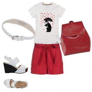 Outfit Una pioggia di cuori