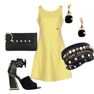 Outfit Chic con un tocco di Rock