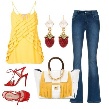 Outfit Dolce alle fragole