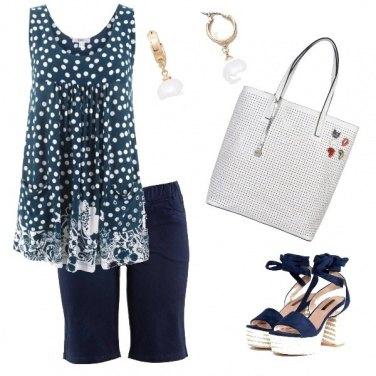 Outfit B B ... Bianco e Blu