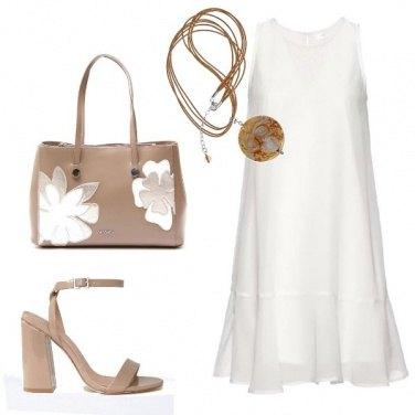Outfit B B ... Bianco e Beige