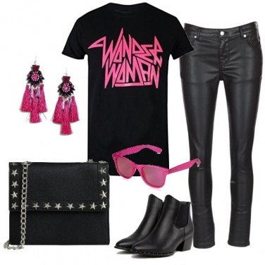 Outfit Wonder Pink woman
