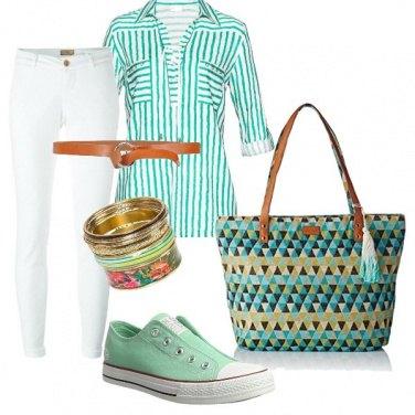 Outfit Colori freschi, stagione calda