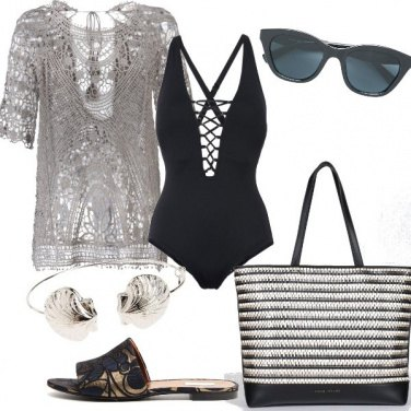 Outfit Chic a bordo piscina
