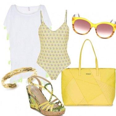Outfit L'energia del giallo