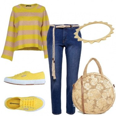 Outfit L'allegria del giallo