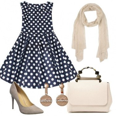 Outfit Romantica in ufficio