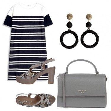 Outfit Nero + grigio