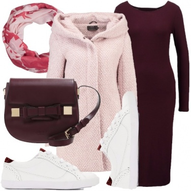 Outfit Rosa d\'autunno