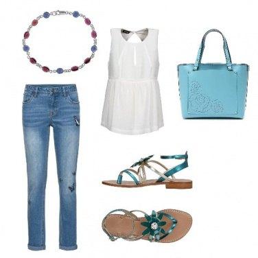 Outfit Jeans anche d\'estate