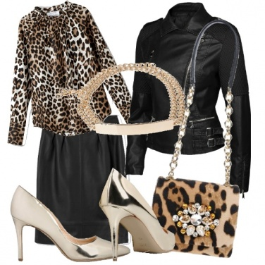 Outfit Rock animale