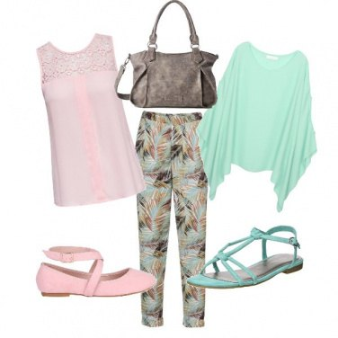 Outfit In rosa o in menta